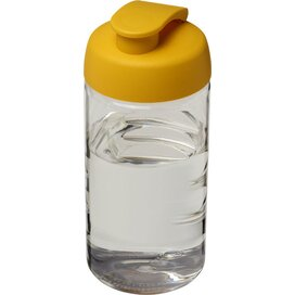 H2O Bop® 500 ml sportfles met flipcapdeksel Transparant,geel