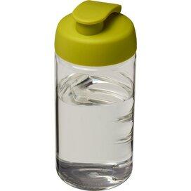 H2O Bop® 500 ml sportfles met flipcapdeksel Transparant,Lime