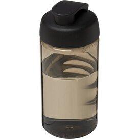H2O Bop® 500 ml sportfles met flipcapdeksel Charcoal,Zwart