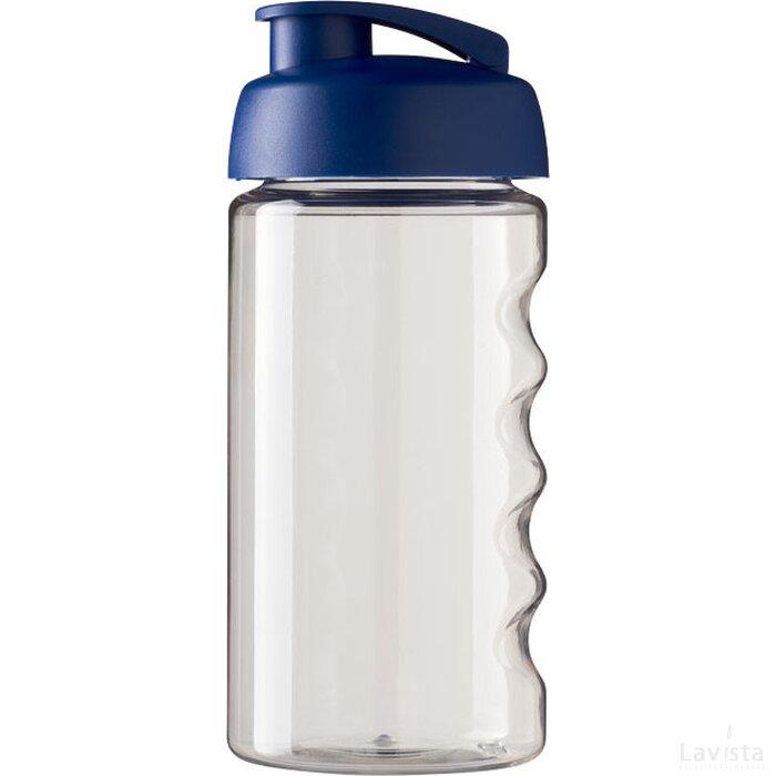 H2O Bop® 500 ml sportfles met flipcapdeksel Transparant,blauw