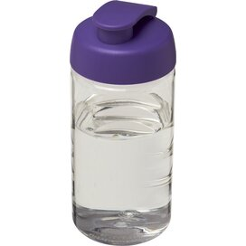 H2O Bop® 500 ml sportfles met flipcapdeksel Transparant,Paars