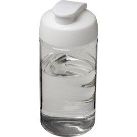 H2O Bop® 500 ml sportfles met flipcapdeksel Transparant,Wit