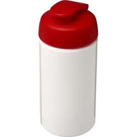 H2O Bop® 500 ml sportfles met flipcapdeksel Wit,Rood