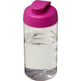 H2O Bop® 500 ml sportfles met flipcapdeksel Transparant,Roze