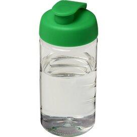 H2O Bop® 500 ml sportfles met flipcapdeksel Transparant,Groen