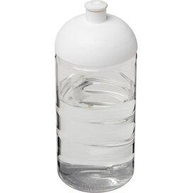 H2O Bop® 500 ml bidon met koepeldeksel Transparant,Wit
