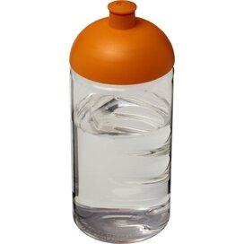 H2O Bop® 500 ml bidon met koepeldeksel Transparant,Oranje