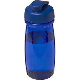H2O Pulse® 600 ml sportfles met flipcapdeksel blauw