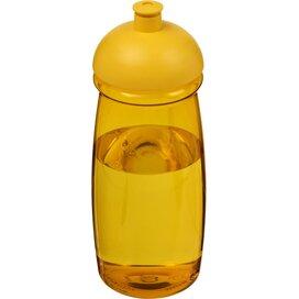 H2O Pulse® 600 ml bidon met koepeldeksel geel