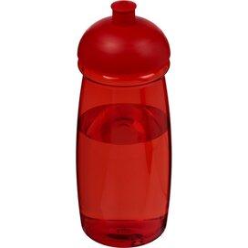 H2O Pulse® 600 ml bidon met koepeldeksel Rood
