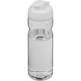H2O Base Tritan™ 650 ml sportfles met flipcapdeksel Transparant,Wit