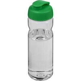 H2O Base Tritan™ 650 ml sportfles met flipcapdeksel Transparant,Groen