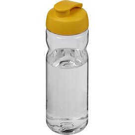 H2O Base Tritan™ 650 ml sportfles met flipcapdeksel Transparant,geel