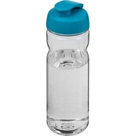 H2O Base Tritan™ 650 ml sportfles met flipcapdeksel Transparant,aqua blauw