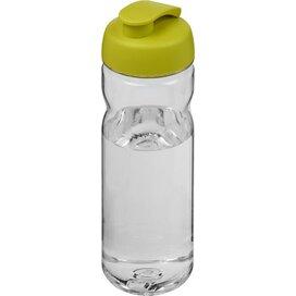 H2O Base Tritan™ 650 ml sportfles met flipcapdeksel Transparant,Lime
