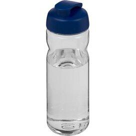 H2O Base Tritan™ 650 ml sportfles met flipcapdeksel Transparant,blauw