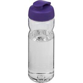 H2O Base Tritan™ 650 ml sportfles met flipcapdeksel Transparant,Paars