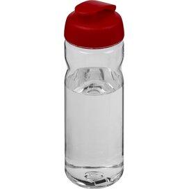 H2O Base Tritan™ 650 ml sportfles met flipcapdeksel Transparant,Rood