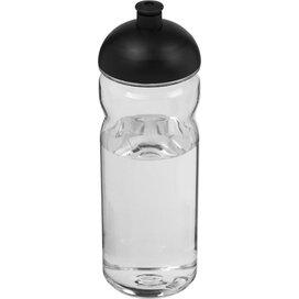 H2O Base Tritan™ 650 ml bidon met koepeldeksel Transparant,Zwart