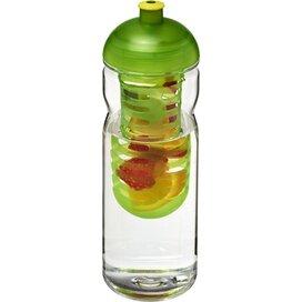 H2O Base Tritan™ 650 ml bidon en infuser met koepeldeksel Transparant,Lime