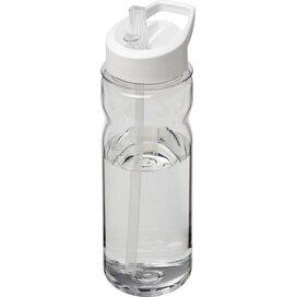 H2O Base Tritan™ 650 ml sportfles met fliptuitdeksel Transparant,Wit