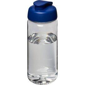 H2O Octave Tritan™ 600 ml sportfles met flipcapdeksel Transparant,blauw