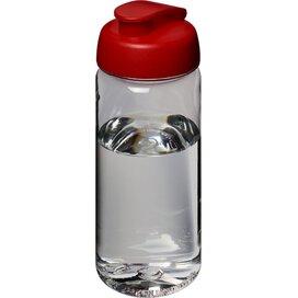 H2O Octave Tritan™ 600 ml sportfles met flipcapdeksel Transparant,Rood