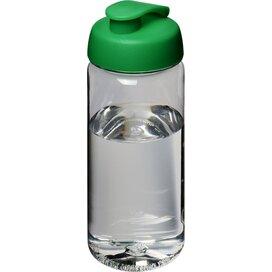 H2O Octave Tritan™ 600 ml sportfles met flipcapdeksel Transparant,Groen