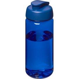 H2O Octave Tritan™ 600 ml sportfles met flipcapdeksel blauw