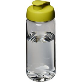 H2O Octave Tritan™ 600 ml sportfles met flipcapdeksel Transparant,Lime