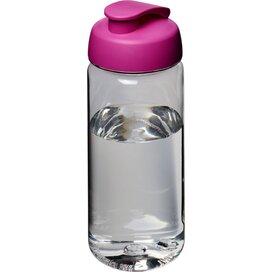 H2O Octave Tritan™ 600 ml sportfles met flipcapdeksel Transparant,Roze