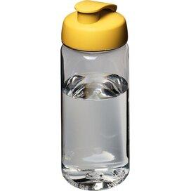 H2O Octave Tritan™ 600 ml sportfles met flipcapdeksel Transparant,geel