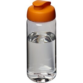 H2O Octave Tritan™ 600 ml sportfles met flipcapdeksel Transparant,Oranje