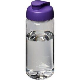 H2O Octave Tritan™ 600 ml sportfles met flipcapdeksel Transparant,Paars