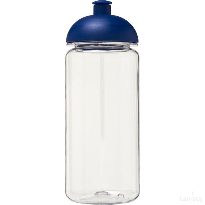H2O Octave Tritan™ 600 ml bidon met koepeldeksel Transparant,blauw