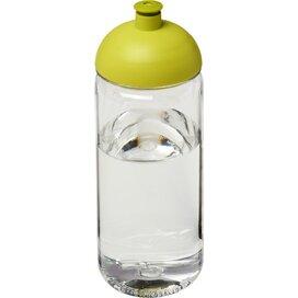 H2O Octave Tritan™ 600 ml bidon met koepeldeksel Transparant,Lime