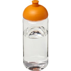 H2O Octave Tritan™ 600 ml bidon met koepeldeksel Transparant,Oranje