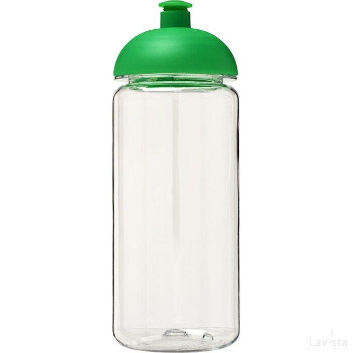 H2O Octave Tritan™ 600 ml bidon met koepeldeksel Transparant,Groen