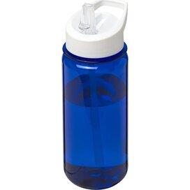 H2O Octave Tritan™ 600 ml sportfles met fliptuitdeksel blauw,Wit