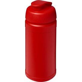 Baseline® Plus 500 ml sportfles met flipcapdeksel Rood
