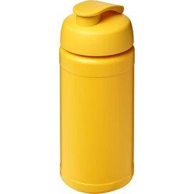 Baseline® Plus 500 ml sportfles met flipcapdeksel geel