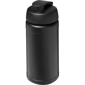 Baseline® Plus 500 ml sportfles met flipcapdeksel Zwart