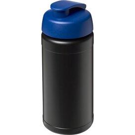 Baseline® Plus 500 ml sportfles met flipcapdeksel Zwart,blauw