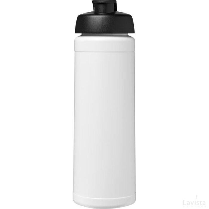 Baseline® Plus 750 ml sportfles met flipcapdeksel Wit,Zwart