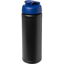 Baseline® Plus 750 ml sportfles met flipcapdeksel Zwart,blauw