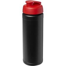 Baseline® Plus 750 ml sportfles met flipcapdeksel Zwart,Rood