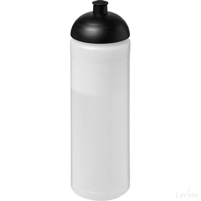 Baseline® Plus 750 ml bidon met koepeldeksel Transparant,Zwart