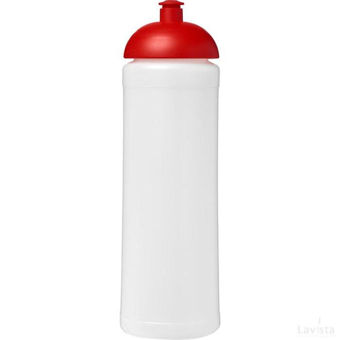 Baseline® Plus 750 ml bidon met koepeldeksel Transparant,Rood