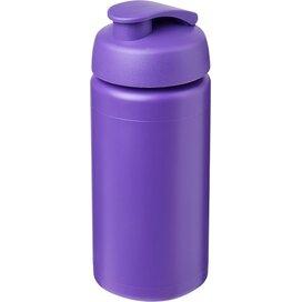 Baseline® Plus grip 500 ml sportfles met flipcapdeksel Paars