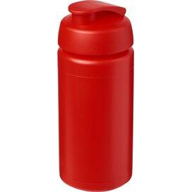 Baseline® Plus grip 500 ml sportfles met flipcapdeksel Rood